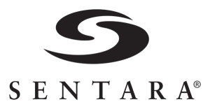 Sentara Black and White Vertical Large Logo